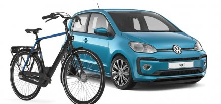 Volkswagen Private Lease fiets