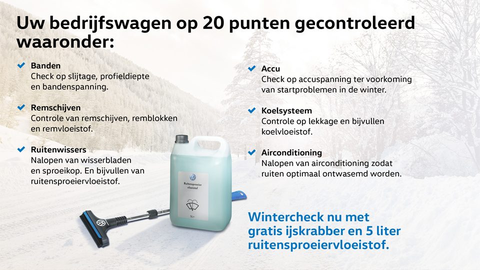 Wintercheck ruit