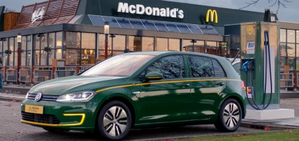 e-Golf McDrive McDonalds